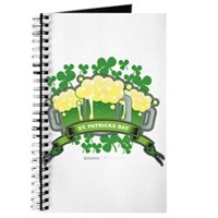 St Patrick's Day Tripple Beer Banner Journal