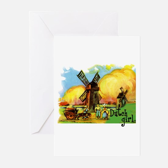 Dutch Girl Greeting Cards (Pk of 10)