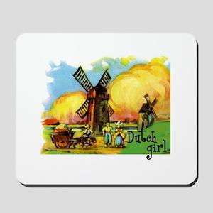 Dutch Girl Mousepad
