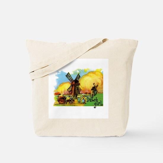 Dutch Girl Tote Bag