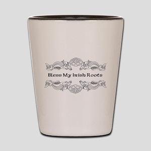 Bless My Irish Roots Shot Glass
