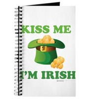 Kiss Me Im Irish Journal