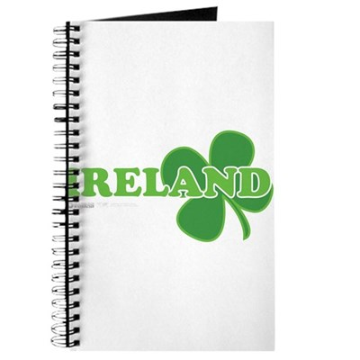 Ireland Lucky Clover Journal