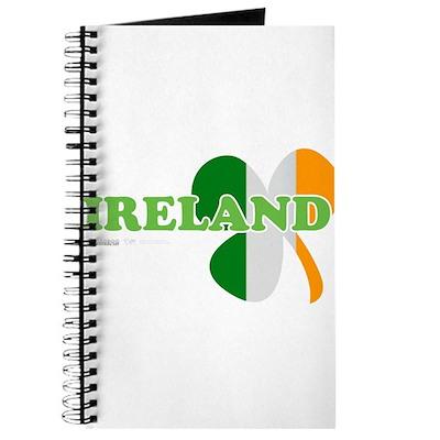 Ireland Clover Flag Journal
