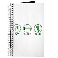 Eat Sleep Drink St Patrick's Day Journal