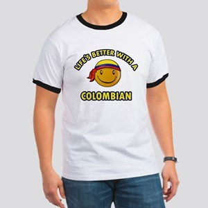 Life's better with a Columbian Ringer T