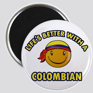 Life's better with a Columbian Magnet