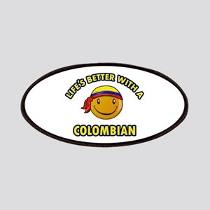 Life's better with a Columbian Patches