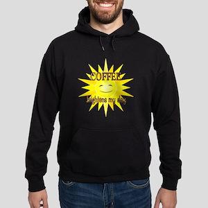Coffee Brightens Hoodie (dark)