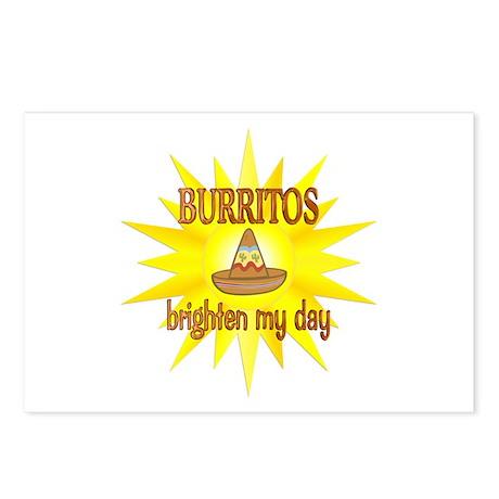 Burritos Brighten Postcards (Package of 8)