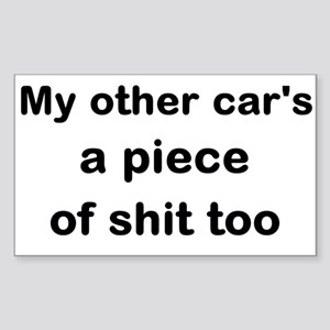 POS Car Sticker (Rectangle)