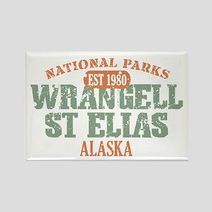 Wrangell St Elias Park Rectangle Magnet