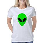 plainalienheadblk Women's Classic T-Shirt