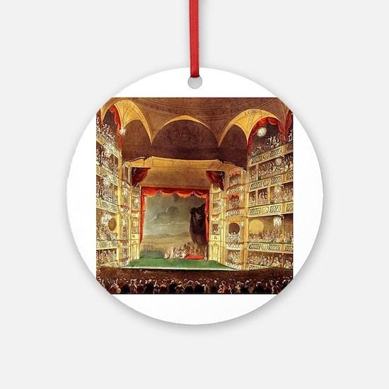 Drury Lane Theatre 1809 Ornament (Round)