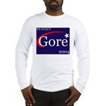 RE-ELECT GORE 2004 Long Sleeve T-Shirt