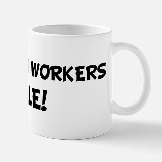 INSULATION WORKERS Rule! Mug