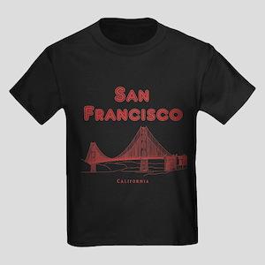 San Francisco Kids Dark T-Shirt