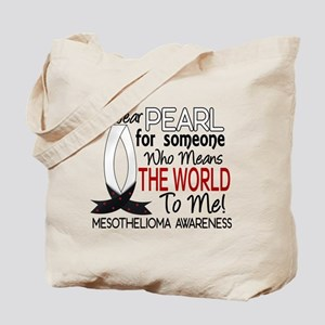 Means World To Me 1 Mesothelioma Shirts Tote Bag