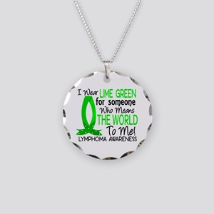 Means World To Me 1 Lymphoma Shirts Necklace Circl
