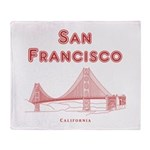 San Francisco Throw Blanket