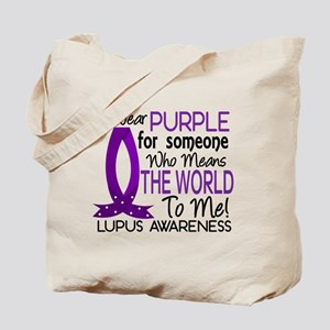 Means World To Me 1 Lupus Shirts Tote Bag