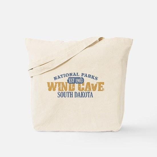 Wind Cave Park South Dakota Tote Bag