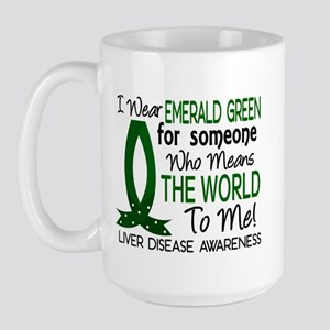 Means World To Me 1 Liver Disease Shirts Large Mug