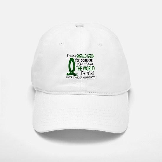 Means World To Me 1 Liver Cancer Shirts Baseball Baseball Cap