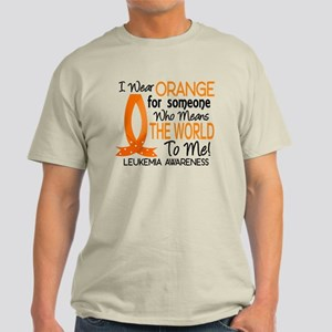 Means World To Me 1 Leukemia Shirts Light T-Shirt