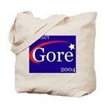 RE-ELECT GORE in 2004 Tote Bag