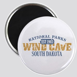 Wind Cave Park South Dakota Magnet