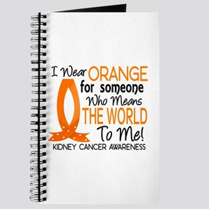 Means World To Me 1 Kidney Cancer Shirts Journal