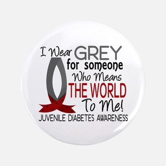 "Means World To Me 1 Juvenile Diabetes Shirts 3.5"""