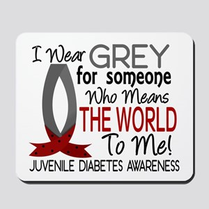 Means World To Me 1 Juvenile Diabetes Shirts Mouse