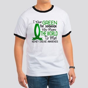 Means World To Me 1 Kidney Disease Shirts Ringer T