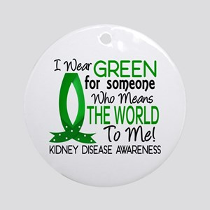 Means World To Me 1 Kidney Disease Shirts Ornament