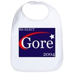 RE-ELECT GORE in 2004 Bib