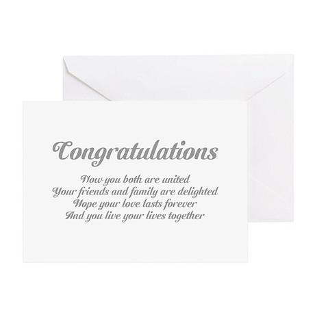 Wedding Congratulations Poem. Greeting Card by Saqtalarlia2