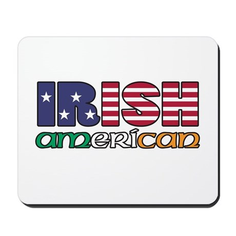 Irish-US Flags Mousepad