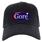 RE-ELECT GORE in 2004 Black Cap