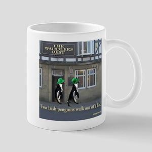 Two Irish Penguins Mug