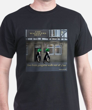 Two Irish Penguins T-Shirt