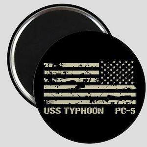 USS Typhoon Magnet