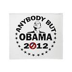 Anybody but Obama Throw Blanket