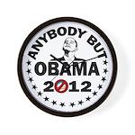 Anybody but Obama Wall Clock