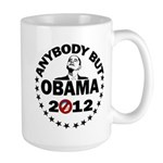 Anybody but Obama Large Mug