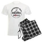 Anybody but Obama Men's Light Pajamas
