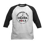 Anybody but Obama Kids Baseball Jersey