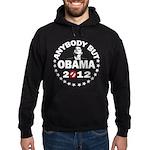 Anybody but Obama Hoodie (dark)