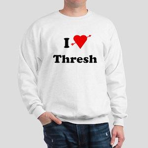 I Love Heart Thresh Sweatshirt
